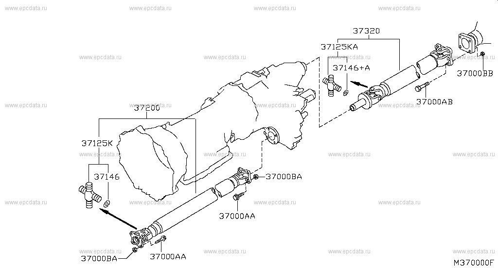 Propeller Shaft (Chassis)