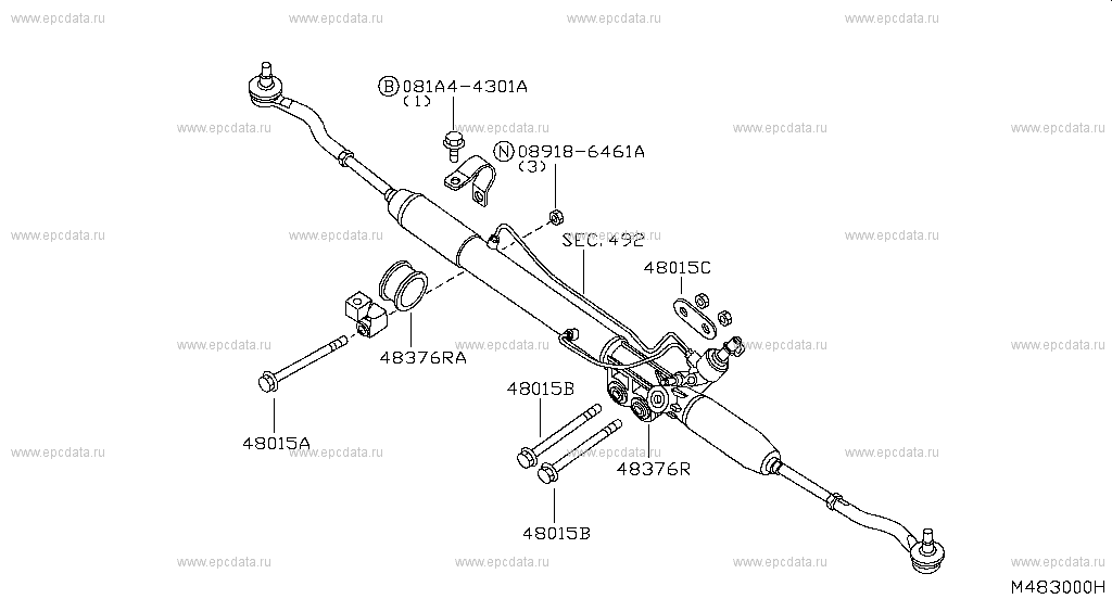 Steering Gear Mounting (Chassis)